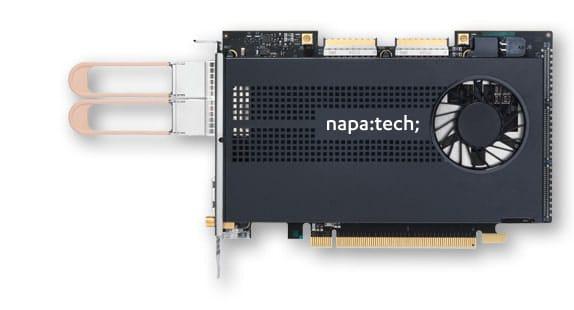 Link-100, 2-port 100 gigabit Ethernet SmartNIC